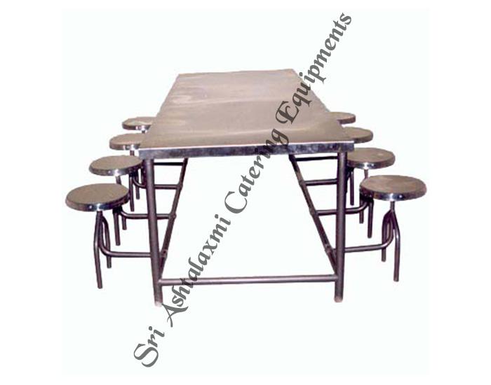 SS Dinning Table Chairs EquipmentsSteam Cooking  : Canteen Dinning Tables8 from www.canteenequipmentindia.com size 700 x 550 jpeg 60kB